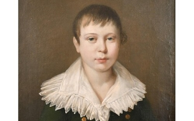 Early 19th Century French School. Bust Portrait of a Young B...