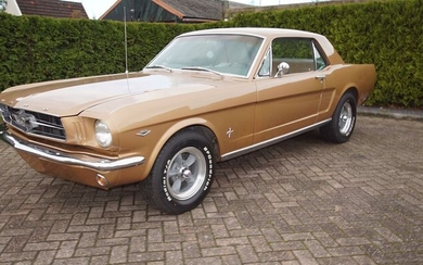 Ford - Mustang Hardtop Coupe V8 A code - 1965