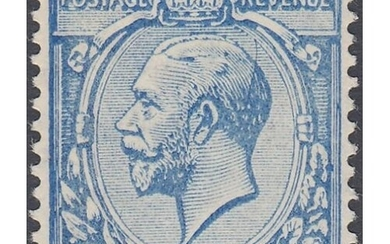 GREAT BRITAIN STAMPS : 1912 Spec N21(7) 2 1/2d Milky Blue, s...