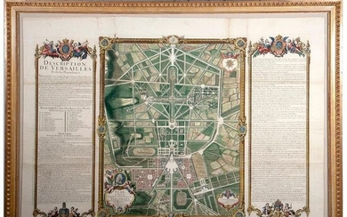 Pierre le Pautre (1659-1744) A Grand View of the Gardens of Versailles