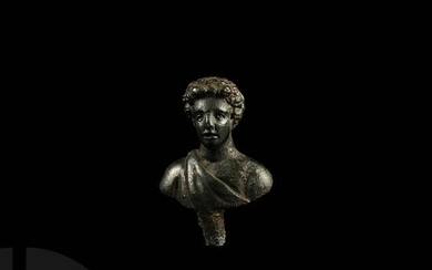 Roman Bust of Young Commodus