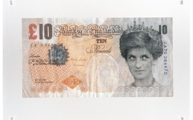 After Banksy Di-Faced Tenner, 10GBP Note, 2005
