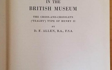 Allen D.F., English Coins in the British Museum - The...