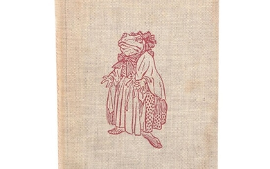 """Arthur Rackham Illustrated """"The Wind in the Willows"""" by Kenneth Grahame, 1956"""