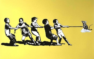 Blek Le Rat (1951) - Rope Pulling – yellow edition