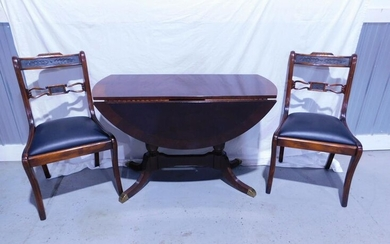 Federal Style Chairs & Table