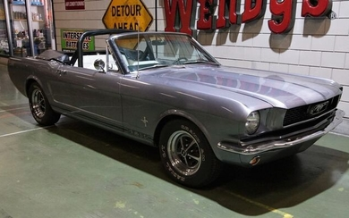 Ford - Mustang convertible V8 automatic - 1966