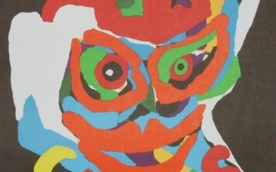 Karel Appel, Cirque at Brewster Gallery, Lithograph