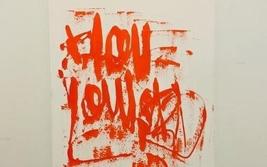 Karl Lagasse (1981) - I Love You Lord** Oeuvre Unique NO RESERVE PRICE**