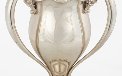Large Sterling Silver Loving Cup