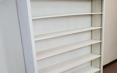 Large White Book Shelf