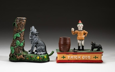 Collectible Painted Cast Iron Coin Banks
