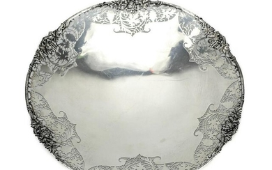 Coopers Bros & Sons Sterling Silver Pierced Dish