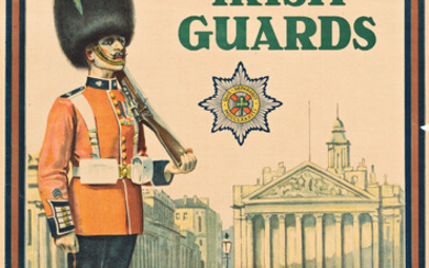 DESIGNER UNKNOWN SMART MEN WANTED FOR THE IRISH GUARDS 1919