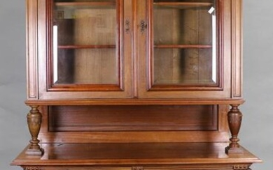 French Double Buffet with Glass Doors