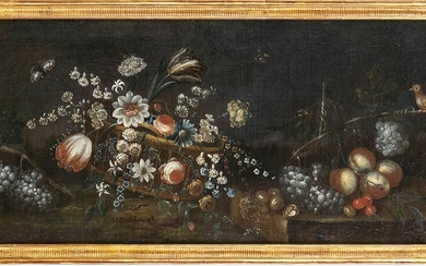 GIUSEPPE VICENZINO (Milan, 1662 - after 1700), ATTRIBUTED TO Still...