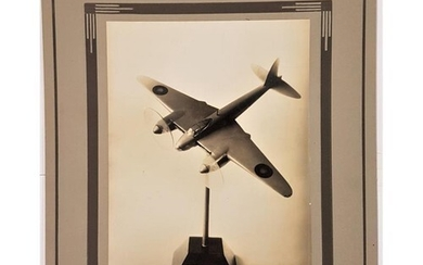 Photograph of a Model of a Mosquito Aeroplane flown by Flyin...