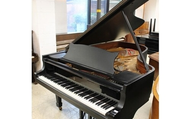 Steinway (c1981) A 6ft 11in Model B grand piano in a satin e...