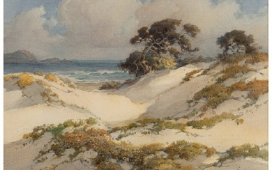 67071: Percy Gray (American, 1869-1952) Sand Dunes Wate