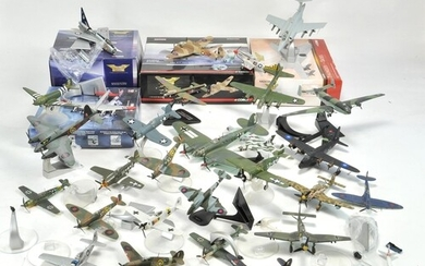 A further large collection of diecast model aircraft compris...