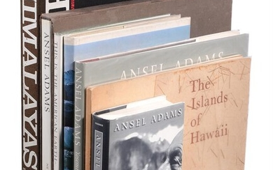 Ɵ ADAMS, Ansel: Books By and About: Seven Works: two SIGNED volumes, 1958-1996.