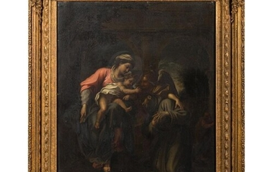 After Annibale Carracci [19th Century]- The Vision of St Fra...