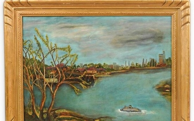 Attrib. Clarence Millet (1897 - 1959) Oil Painting