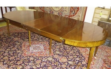 DINING TABLE, 282cm L extended x 76cm H x 130cm, early 20th ...