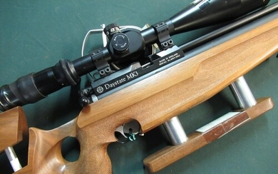Daystate MK3 PCP air rifle with field target scope .177