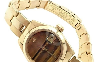 Rolex Oyster Perpetual DateJust 18k Gold Ladies