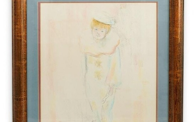 Signed French Pierrot Sketch