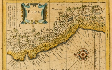 South America.- Collection of nine maps of South
