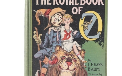 """""""The Royal Book of Oz"""" by L. Frank Baum, Early to Mid-20th Century"""