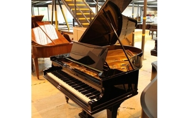 Bechstein (c1896) A 6ft Model A grand piano in a bright ebon...