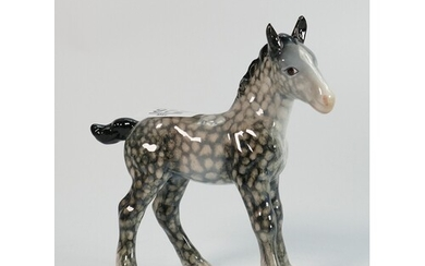 Beswick rocking horse grey shire foal 951: lovely early ver...