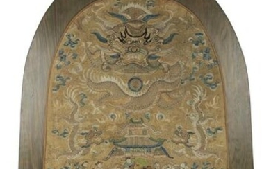 CHINESE EMBROIDERY PANEL
