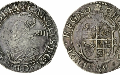 Charles I (1625-1649), Group C, Shilling, 1630-1631, Type 2a, Tower (under King)