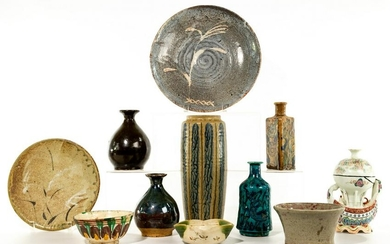 Chinese and Japanese Pottery and Porcelain Assortment