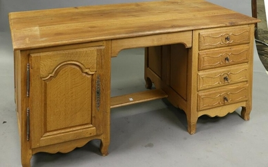 Country French Knee Hole Executive Desk