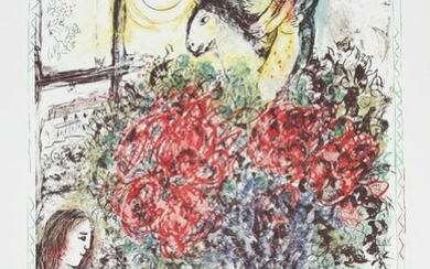Marc Chagall, Chagall at Pace Columbus, Poster