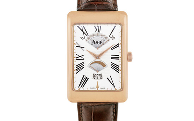 PIAGET, PINK GOLD, RETROGRADE SECONDS AND POWER RESERVE WITH DATE