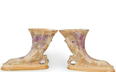 Pair of Beckwith Porcelain Vases