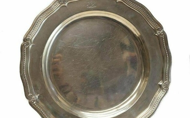 Tiffany & Co Makers Sterling Silver Serving Tray