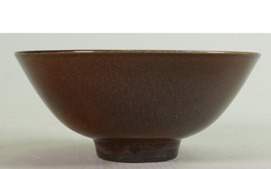 Wedgwood Norman Wilson small footed bowl: Diameter 13.4cm.