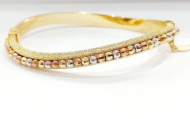 18 kt. Gold, Pink gold, Tricolour, White gold, Yellow gold - Bracelet