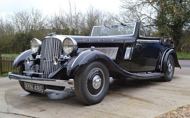 1935 Brough Superior 4.2-Litre Dual Purpose Drophead Coupé One of Only 25 Eight-Cylinder Cars Made