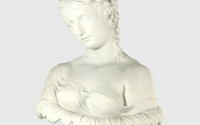 19th Century Neo-Classical Parian Bust