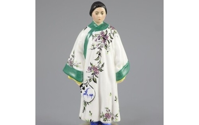 A Russian porcelain figure of a fashionable Chinese lady, Lo...
