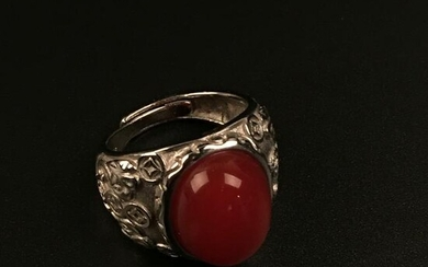 A South Red Stone Ring