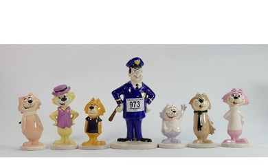 A set of Beswick figures from the Top Cat collection : compr...